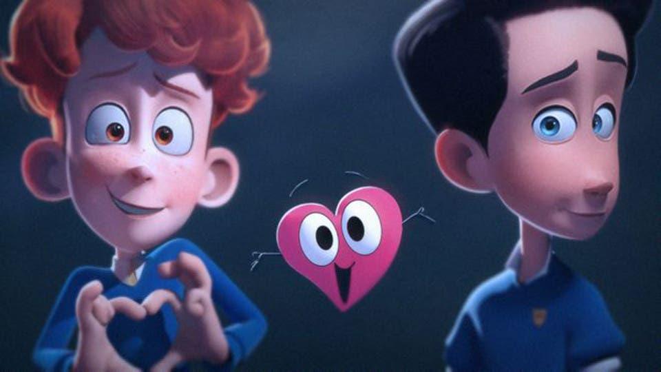 In a Heartbeat narra la historia de amor entre dos niños