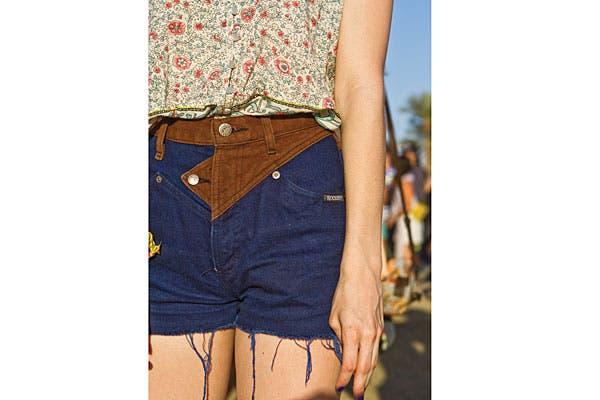 Muy vintage, el recorte de los shorts, ¡son divinos!. Foto: Gabriela Goldberg