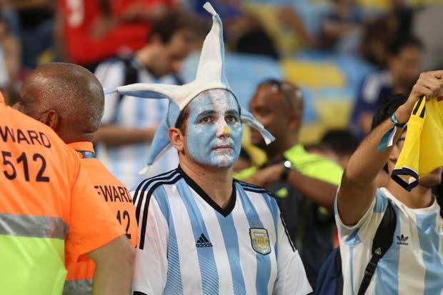 La Argentina perdió con Alemania 1-0 en la final.  Foto:LA NACION /Juan López / Enviado especial