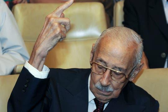 El 22 de diciembre de 2010 un tribunla de Córdoba lo encontró culpable del asesinatos a varios disidentes. Foto: Archivo