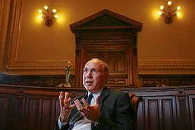 Ricardo Lorenzetti, presidente de la Corte Suprema, aseguró que la inseguridad es una preocupación