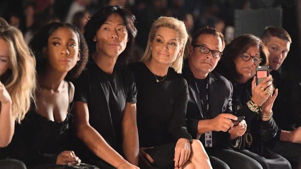 Primera fila del show de Desigual / Getty Images