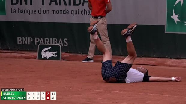 Zeballos y Trungelliti avanzaron a segunda ronda en Roland Garros