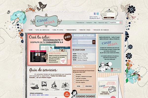 En casarcasar podés crear tu propio página web ¡gratis! Además, sacar buenas ideas para tu fiesta. Foto: Gentileza OlimpoBa
