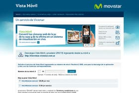 El servicio de Movistar está optimizado para celulares