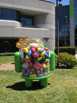 Jelly Bean, la última versión de Android en su edición 4.1. Foto: LA NACION / Guillermo Tomoyose