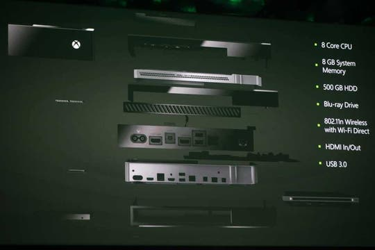 Cómo es el interior de la Xbox One, con un detalle de la configuración técnica de la consola de videojuegos de Microsoft. Foto: Reuters