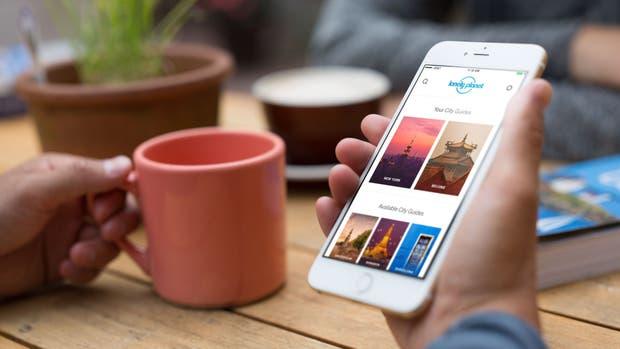La aplicación Trips es una suerte de guía comunitaria, complementaria a la Lonely Planet tradicional