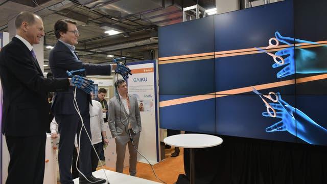El Príncipe Constantijn de Holanda y el Presidente y CEO de Consumer Technology Association hacen la inauguración virtual