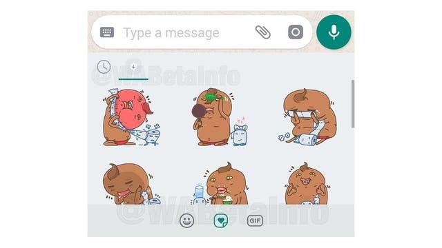 Whatsapp permite usar stickers en el chat