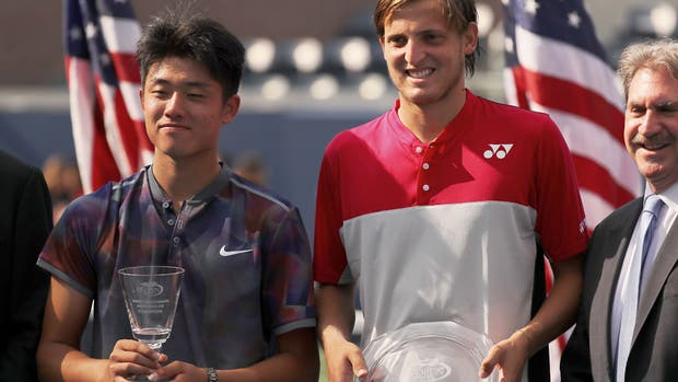 Axel Geller se metió en el duelo decisivo del US Open Junior