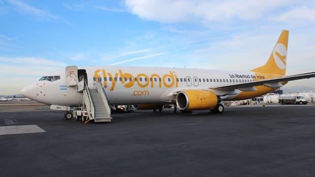 El primer Boeing 737-800 que trajo la empresa para operar en el país