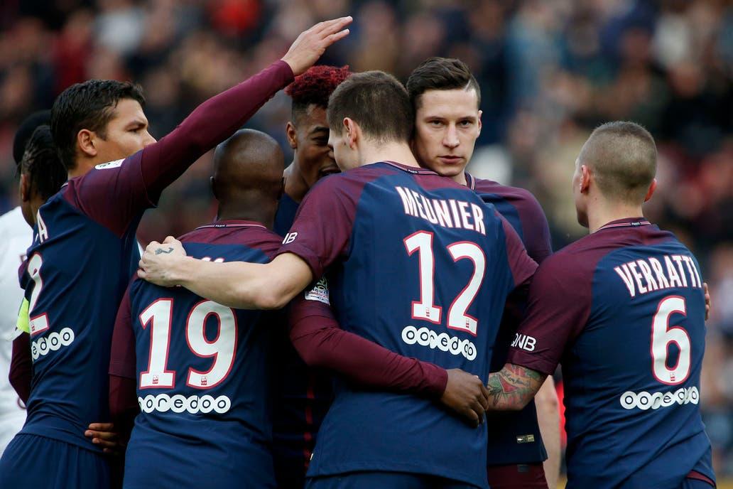 PSG se lavó la cara en Francia con goleada sobre el Metz