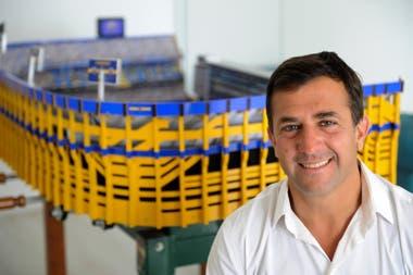 Christian Gribaudo, el candidato del oficialismo