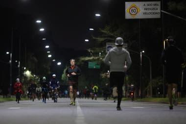 A partir del próximo miércoles, los bosques de Palermo volverán a quedar vacíos de corredores