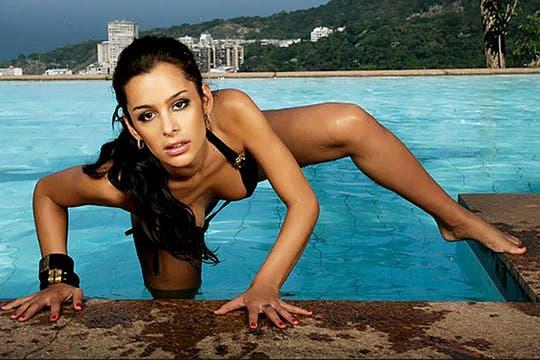 La paraguaya se desnudó para la publicación on line de Brasil Paparazzo. Foto: www.paparazzo.com.br