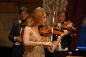 La brillante violinista italiana Francesca Dego