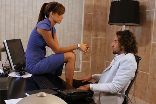 El amor peligroso entre Pablo y Jimena. Foto: Prensa Telefé