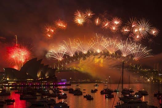 La celebración en Sidney. Foto: EFE