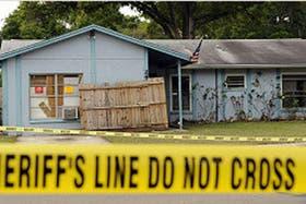 La casa de Jeffrey Bush, de 36 años, se encuentra en la localidad de Seffner