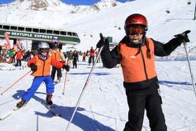 Los chicos volverán a divertirse en la nieve