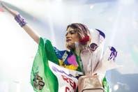 Martina Stoessel, enamorada, conquistó Brasil