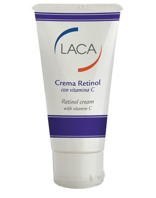 Crema retinol con vitamina C. Restablece el espesor natural y recupera su elasticidad ($172, Laca).