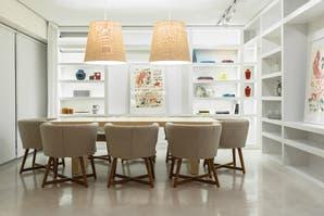 Un plan de luz para el living-comedor