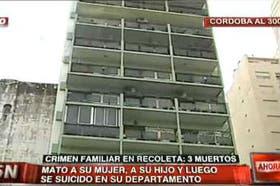 El edificio donde ocurrió la tragedia