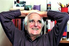 A los 77 años, el doctor Engelbart sigue trabajando para mejorar la interacción entre las personas y las computadoras