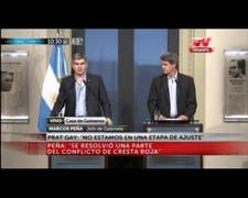 """Marcos Peña: """"Que Cristina Kirchner use su energía para explicar su situación ante la Justicia"""""""