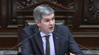 Marcos Peña en Cámara de Diputados