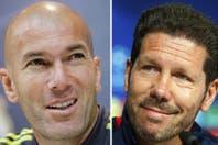 """Por qué el Cholo Simeone y Zidane son dos técnicos formados """"a la italiana"""""""