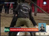 Antonia Macri se divierte en la Rural