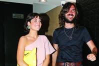 Flor Torrente, sonriente junto a su nuevo amor