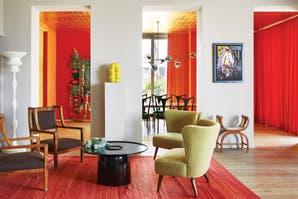 La casa colorida de un diseñador vienés