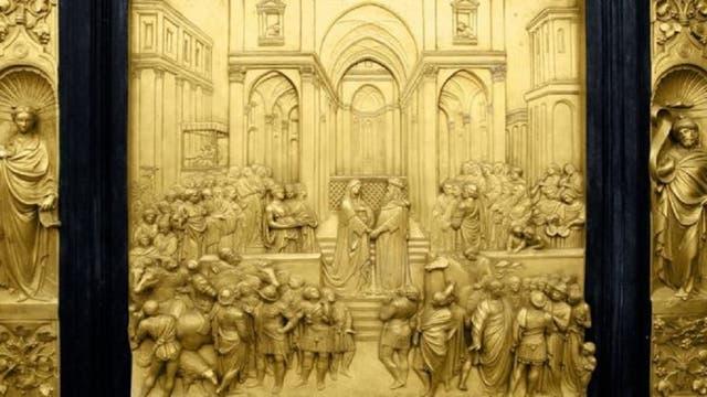 La Biblia describe el Templo como un lugar deslumbrante, con paredes enchapados en madera de cedro y oro.