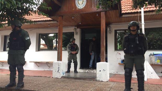 La Gendarmería realizó los allanamientos