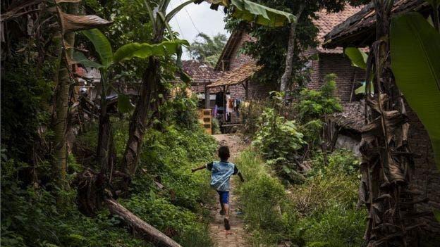 Siti Aisyah creció en Serang, a dos horas de Yakarta.