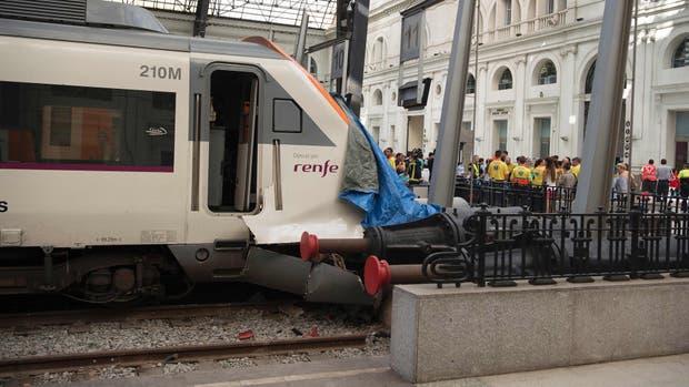Estacio de Franca, estación de Francia, Barcelona, tren, Rodalies de Catalunya, heridos, accidente