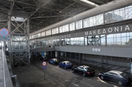 El aeropuerto de Tesalónica, en Grecia (en la imagen), se llama ?Macedonia?, y el de Skopie, en Macedonia, se llama Alejandro Magno.