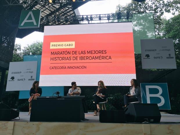 Florencia Coelho, de LN Data, presenta el proyecto finalista del Premio Gabo: Dos años de análisis de las escuchas de Nisman