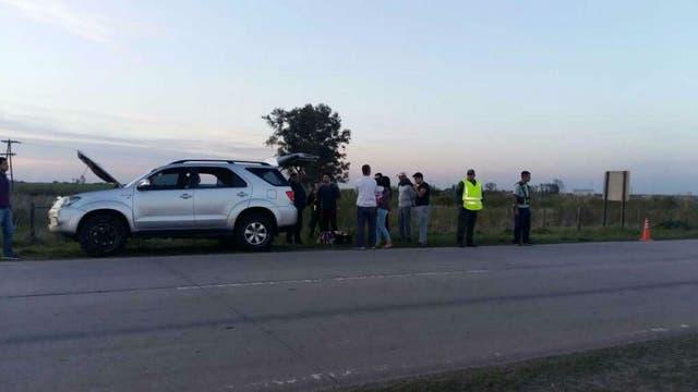 La Toyota Hilux que fue detenida por trasladar 118 kilos de marihuana