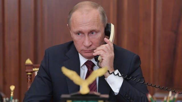 Un llamado amistoso: Vladimir Putin habló con Donald Trump para agradecer la ayuda de la CIA