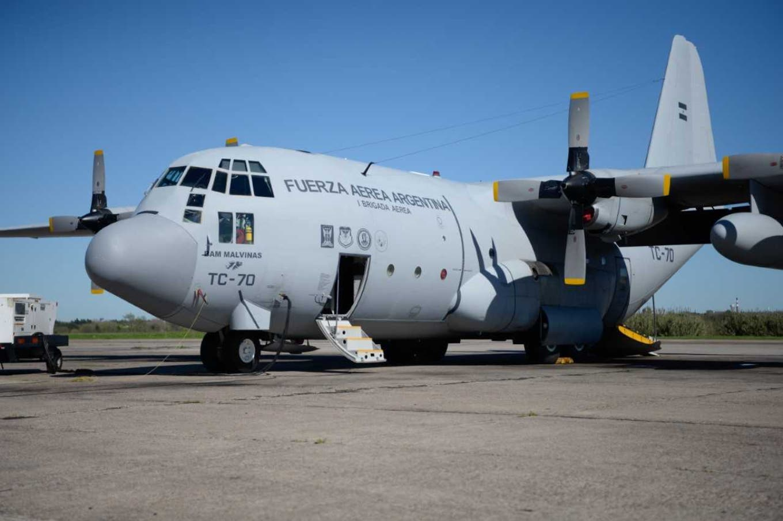 Presentaron el primer avión Hércules C-130 modernizado íntegramente por técnicos argentinos