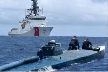Entre mayo y julio de 2019, la Guardia Costera realizó 14 operativos de interceptación de embarcaciones fuera de las costas de México, Centroamérica y Sudamérica