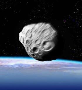 El asteroide llamado 2009 DD45 pasó el lunes último a unos 78.500 kilómetros de la Tierra