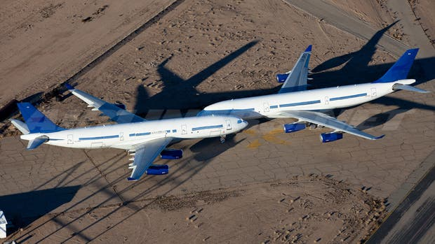 Aviones abandonados en Arizona
