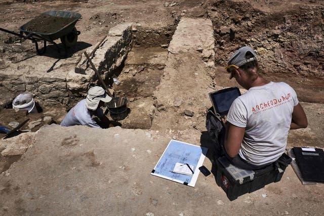 La ruinas cubren una extensión de 7.000 metros cuadrados.