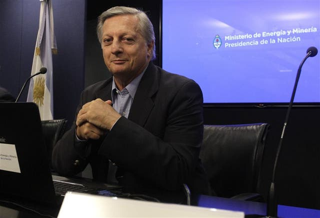 Aranguren, el martes pasado, al anunciar el nuevo cuadro tarifario de la electricidad